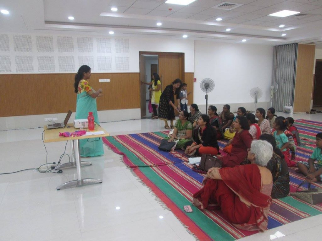 Session on Cloth Bag Making