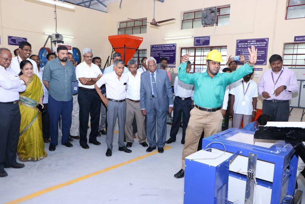 SREC Alumnium recycle plant